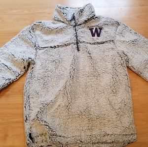 UW Sherpa Quarter Zip Pullover